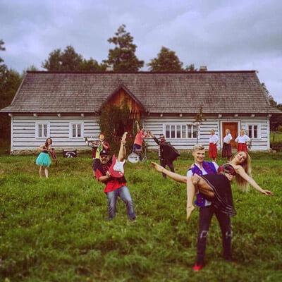 szkoła tańca SZOk teledysk z tancerzami szok