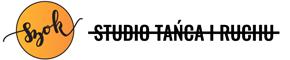 studio tańca i ruchu szok logotyp logo